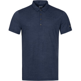 super.natural Everyday Poloshirt Heren, blue iris melange